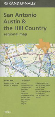 Rand Mcnally San Antonio, Tx Regional Map By Rand McNally and Company (COR)